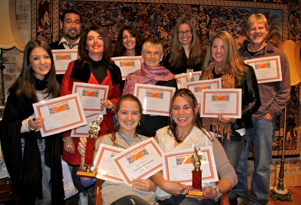 2010 Song Contest Winners