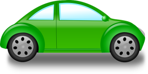 new-green-outline-drawing-car-cartoon-bug-free