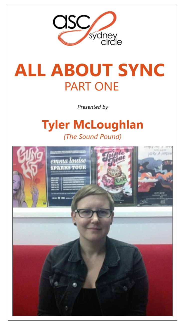 All About Sync - Tyler McLoughlan-The Sound Pound_video title02