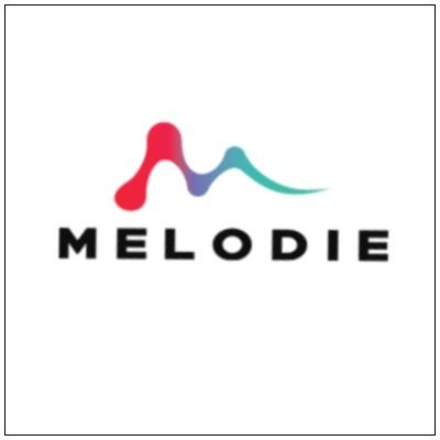 Melodie logo-framed